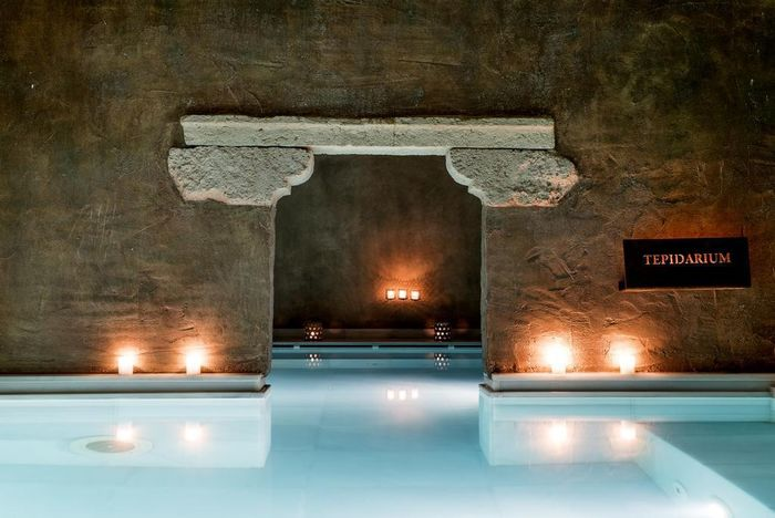 Reserve Aire Hotel & Ancient Baths hotel agora!