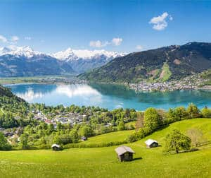Zell am See Berge
