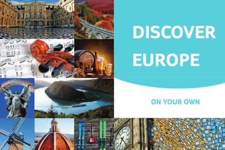 Discover Europe on your own