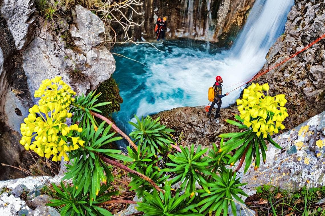 Canyoning Ferien