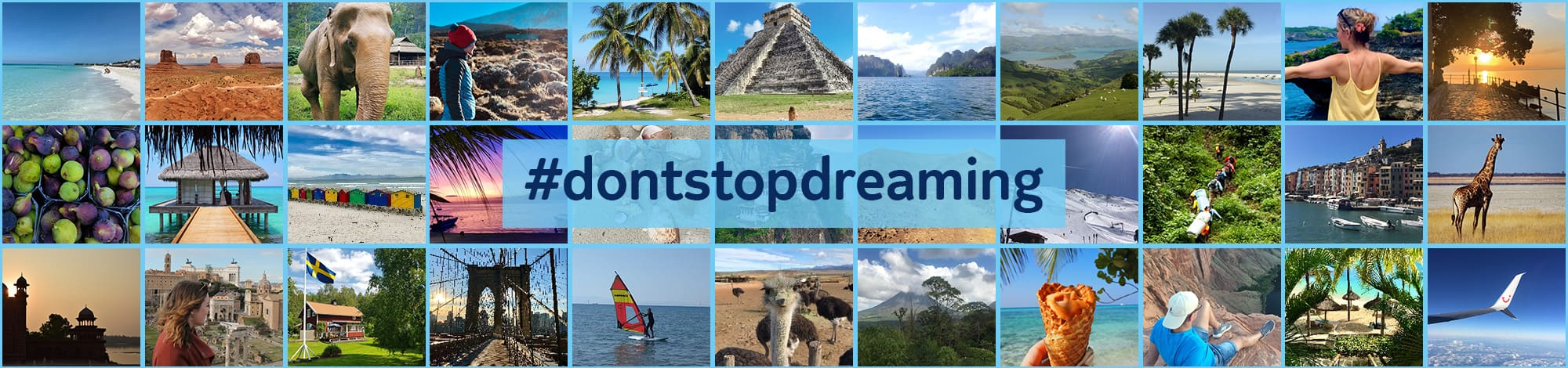 TUI #dontstopdreaming